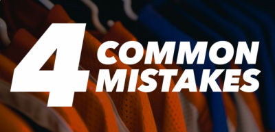 4 Mistakes To Avoid While Designing Sports Uniform
